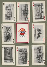 Collectible  souvenir playing cards. Detroit 250 th birthday